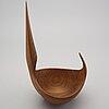 Johnny mattsson, sculpture/bowl, monogram signature, 1950-/1960's.