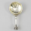 A swedish early 18th century silver spoon, mark of wolter siewers, norrköping (1693-1722).