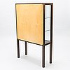 Carl gustaf hiort af ornÄs, a 1950s display cabinet, 'näyttely-vitriini' for huonekalu mikko nupponen oy, finland.