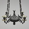 A mid 19th century hanging lamp.