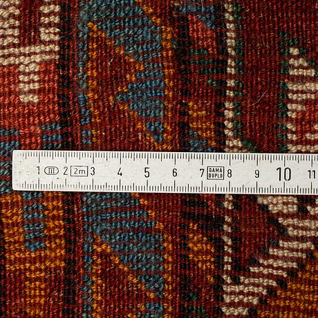 A carpet, antique kurd, ca  420 x 160 cm.