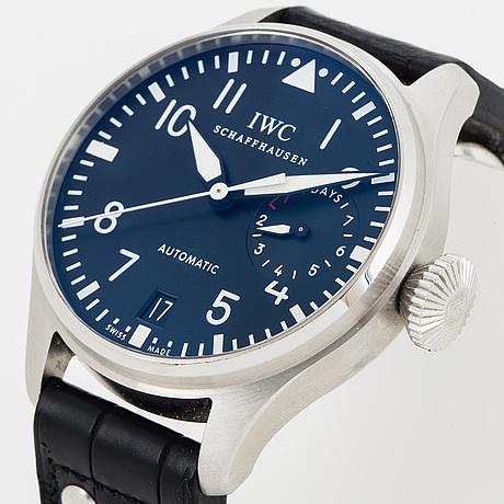 Iwc, schaffhausen, big pilot´s watch, wristwatch, 46 mm.
