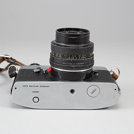 Leicaflex sl, with 4 lenses.