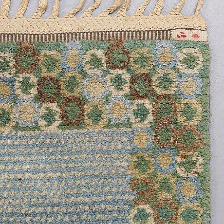 "Barbro nilsson, a carpet, ""gröningen"", knotted pile, ca 241-241,5 x 170,5-173,5 cm, signed ab mmf bn."