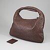 Bottega veneta, a leather bag.