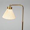 Josef frank, a model 1842 brass standard light from svenskt tenn.