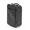 A black epi leather pégase 55 suitcase.