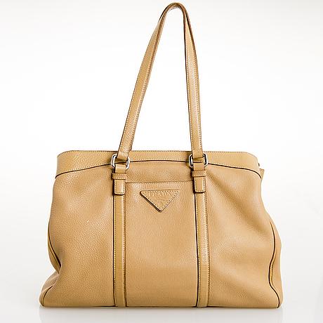 Prada, shoulder bag.