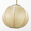 A mid 20th century ceiling lamp possibly italy.