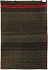 A mid-19th-century finnish long pile rug. circa 200x135 cm.