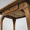 An 18th century table.