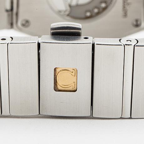 Omega, constellation, wristwatch, 28 mm.