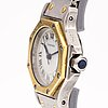 "Cartier, ""santos"", rannekello, 24 mm."