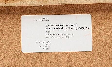 Carl michael von hausswolff, c-print mounted on aluminium. edition 2/2.