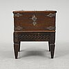 A chest and stand, 19th-20th century.