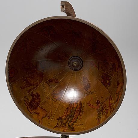 A bar globe, second half of the 20th century.