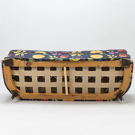 A mid-20th century sofa.