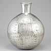 Estrid ericson, a pewter vase, 'peruanska urnan', firma svenskt tenn, stockholm 2015.