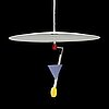 A 1980's 'halo there' ceiling lamp by olle andersson for boréns.