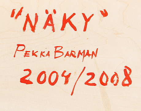 "Pekka barman, ""vision""."
