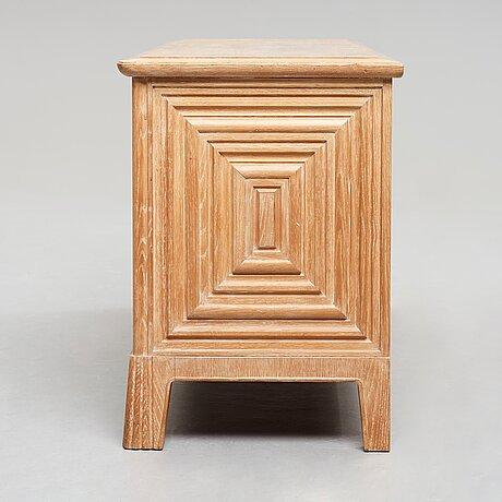 Oscar nilsson, attributed to, an oak swedish modern sideboard, 1940's.