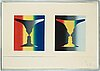 "Jasper johns, ""cups 4 picasso""."