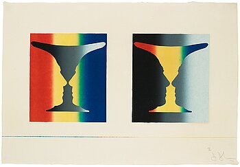"294. Jasper Johns, ""Cups 4 Picasso""."