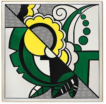 """308. Roy Lichtenstein, """"Still Life"""" from """"The Metropolitan Scene""""."""