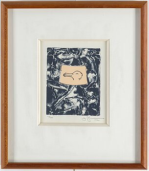 JASPER JOHNS, lithograph, 1990, signed in pencil and numbered 106/250.