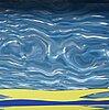 """Roy lichtenstein, """"seascape ii"""" from Édition mat 6."""