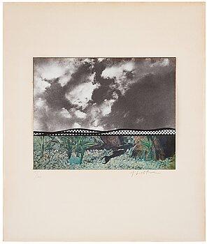 """297. Roy Lichtenstein, """"Fish and sky"""" from """"Ten from Leo Castelli""""."""
