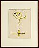 Claes oldenburg, lithograph, 1976, signed in pencil and numbered 30/75.