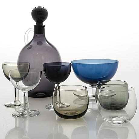 Saara hopea, 19 glasses for nuutajärvi notsjö.