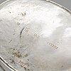 A swedish silver creamer, mark of lorenz georg weis, norrköping 1810.