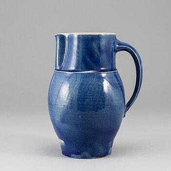 INGRID ABENIUS (TRILLER), a stoneware jug for Otto Lindig, Keramische Werkstatt Dornburg, circa 1932.