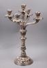 Kandelaber, silver, nyrokoko, scheffer, Österrike omkring 1900. vikt 1153 g.