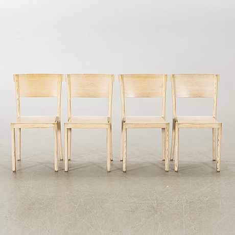 "Åke axelsson, 8 ""light and easy"" chairs, gärsnäs, 21st century."