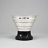 A silver bowl from gab, stockholm, 1931.