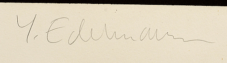 YrjÖ edelmann, lithograph, signed, numbered e.a 11/15.
