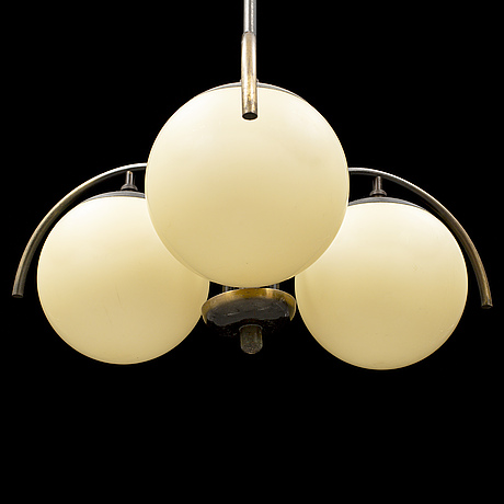 A art déco ceiling lamp from the 1920's-/30's.