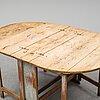 Slagbord, omkring år 1800.
