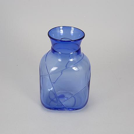 Bertil vallien, glass, three pieces.
