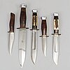 Pontus holmberg, five knives, eskilstuna.
