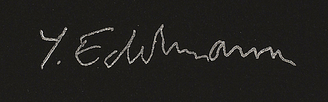 YrjÖ edelmann, litograph, signed, numbered h.c 3/10.