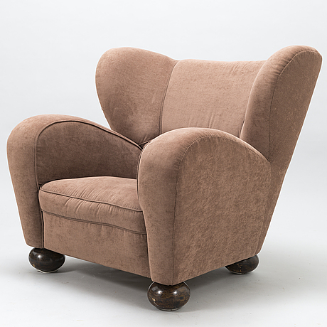 MÄrta blomstedt, an 'aulanko-model' armchair. designed in 1939.