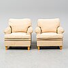 Josef frank, a pair of easy chairs.