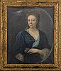 Unidentified english 18th century artist oil on canvas.