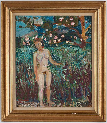 Sven x:et erixson, oil on panel, signed sven erixson and dated 1940.
