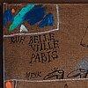 """Madeleine pyk, """"rue belle ville, paris""""."""