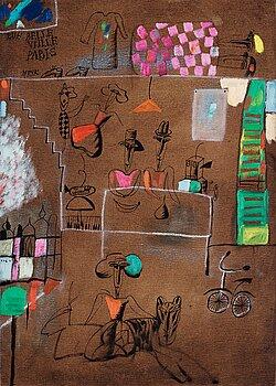 """16. Madeleine Pyk, """"Rue Belle Ville, Paris""""."""